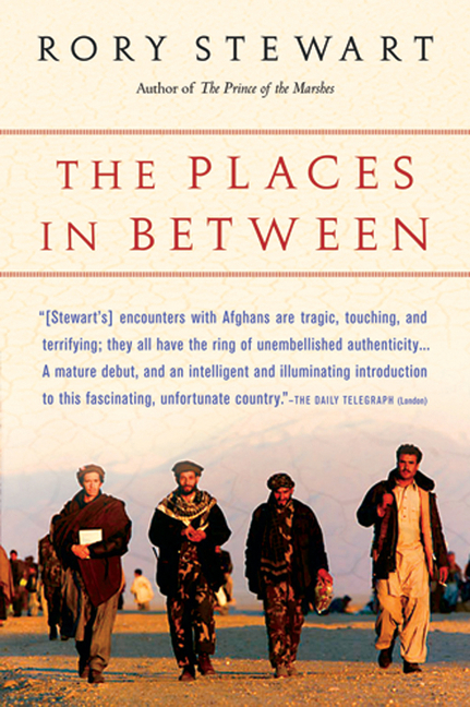 The Places In Between. RORY STEWART.