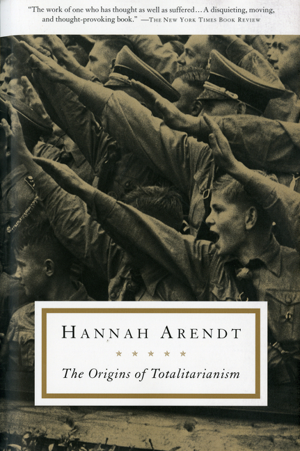 The Origins of Totalitarianism. HANNAH ARENDT.