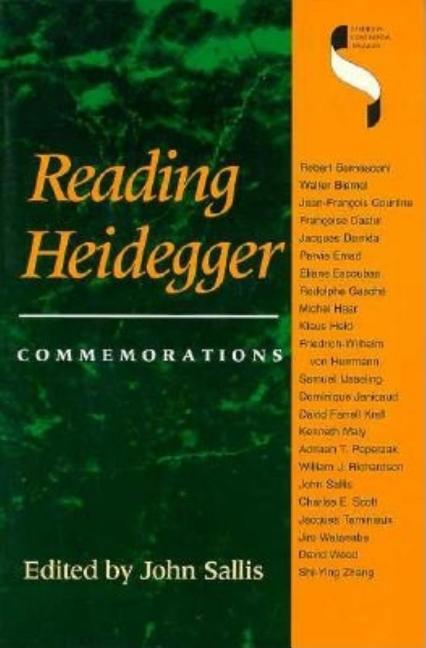 Reading Heidegger: Commemorations (Studies in Continental Thought