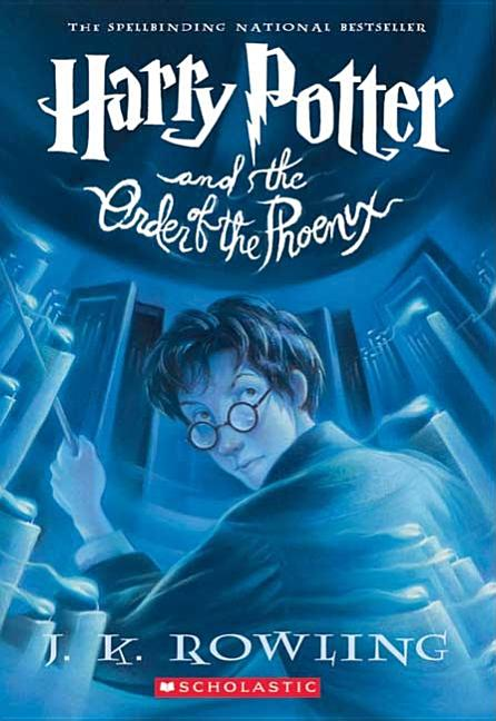 Harry Potter and the Order of the Phoenix (Book 5). MARY GRANDPRÉ J. K. ROWLING