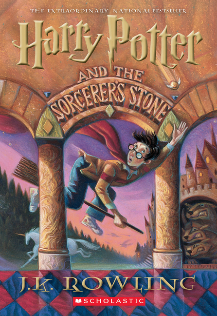 Harry Potter and the Sorcerer's Stone (Book 1). J. K. ROWLING
