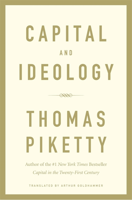 Capital and Ideology. Thomas Piketty