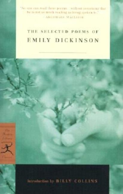 Selected Poems of Emily Dickinson. EMILY DICKINSON
