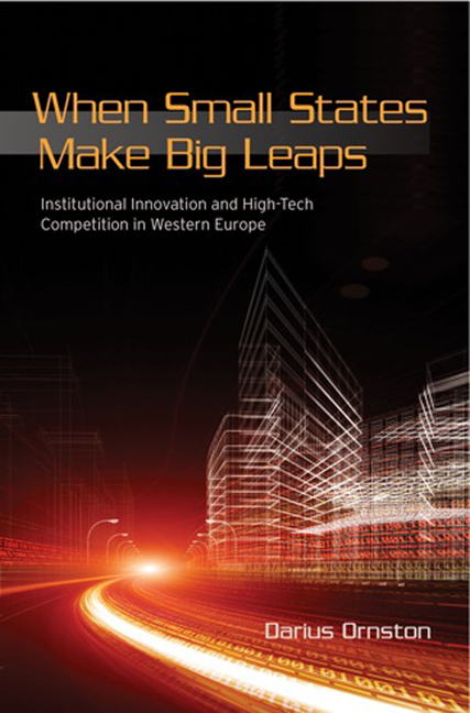 When Small States Make Big Leaps: Institutional Innovation and High-Tech Competition in Western...