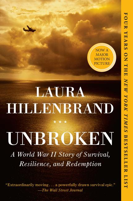 Unbroken: A World War II Story of Survival, Resilience, and Redemption. Laura Hillenbrand.