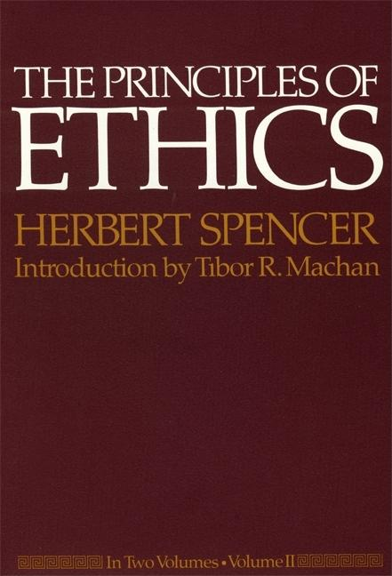 Principles of Ethics, Vol. II (of two). Herbert Spencer