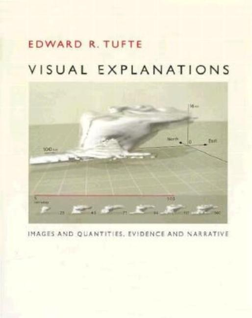 Visual Explanations : Images and Quantities, Evidence and Narrative. EDWARD R. TUFTE