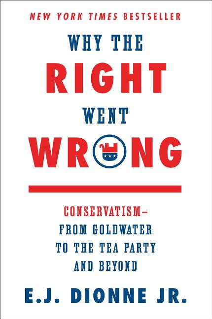 Why the Right Went Wrong. E J. Dionne.