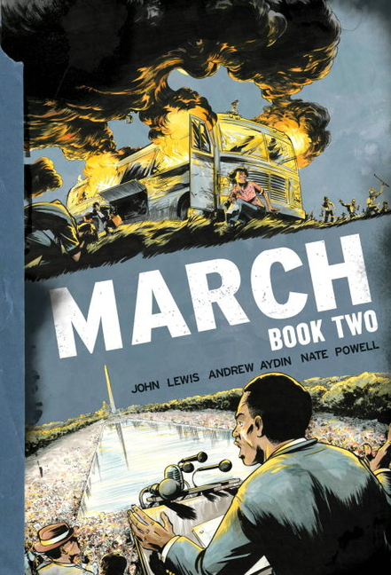 March Book 2. John Lewis, Andrew, Aydin