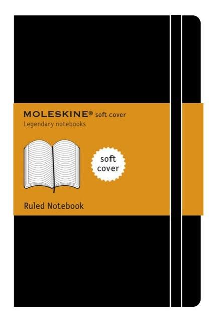 Moleskine Ruled Notebook Soft Cover Large