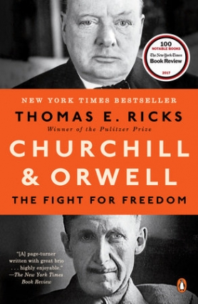 Thomas Ricks Talks Churchill & Orwell