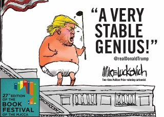 Mike Luckovich | A Very Stable Genius