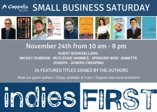 Indies First Small Business Saturday