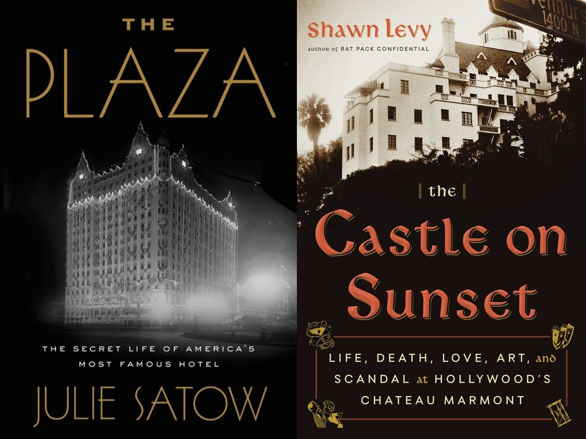 Julie Satow - The Plaza and Shawn Levy - The Castle on Sunset