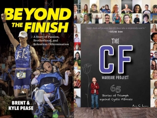 Brent Pease and Kyle Pease - Beyond the Finish and Andy Lipman - The Cystic Fibrosis Warrior Project
