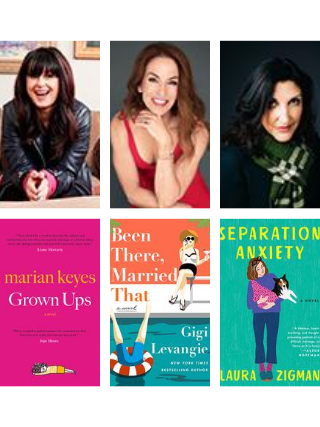 MJCCA Book Fest In Your Living Room Presents Marian Keyes, Gigi Levangie, and Laura Zigman Virtual Event