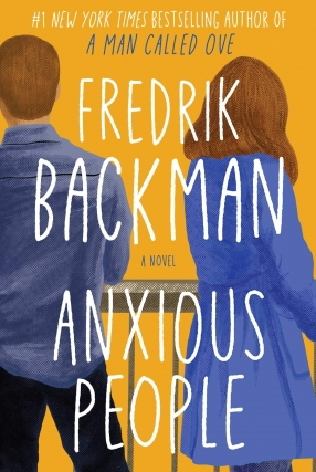 MJCCA Book Fest In Your Living Room Live Presents Fredrik Backman - Anxious People Virtual Event