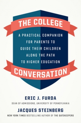 MJCCA Book Fest In Your Living Room Live Presents Eric Furda and Jacques Steinberg - The College Conversation Virtual Event
