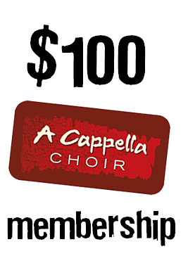 $100 choir membership