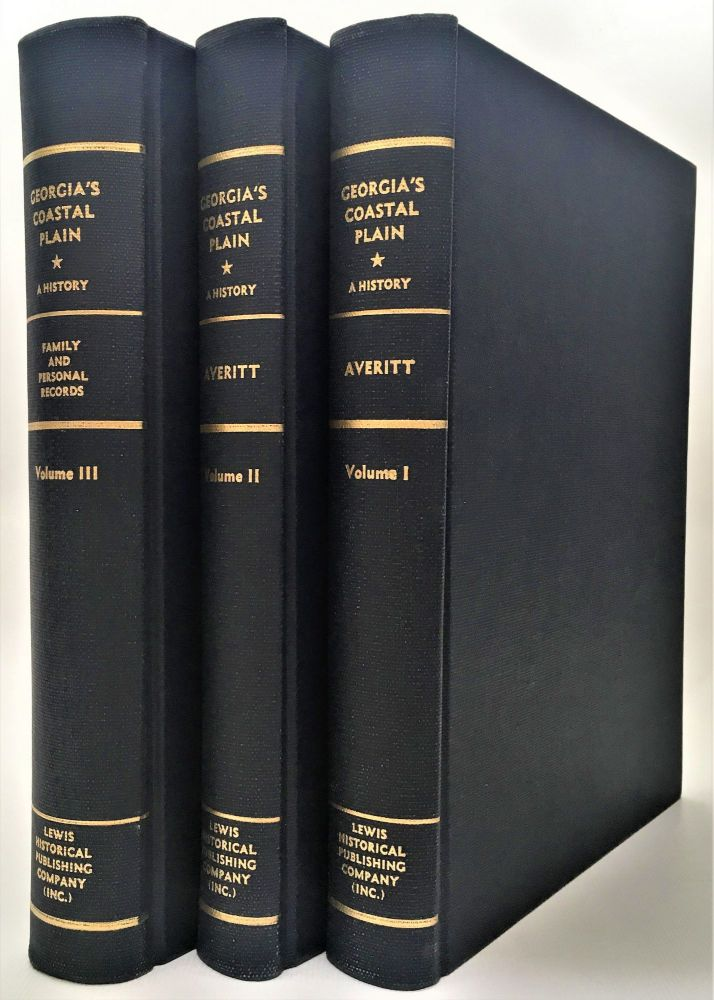 Georgia's Coastal Plain (3 volumes). Jack N. Averitt.
