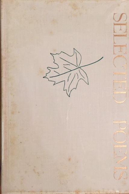 Selected Poems (FIRST EDITION SIGNED). Mark Van Doren.