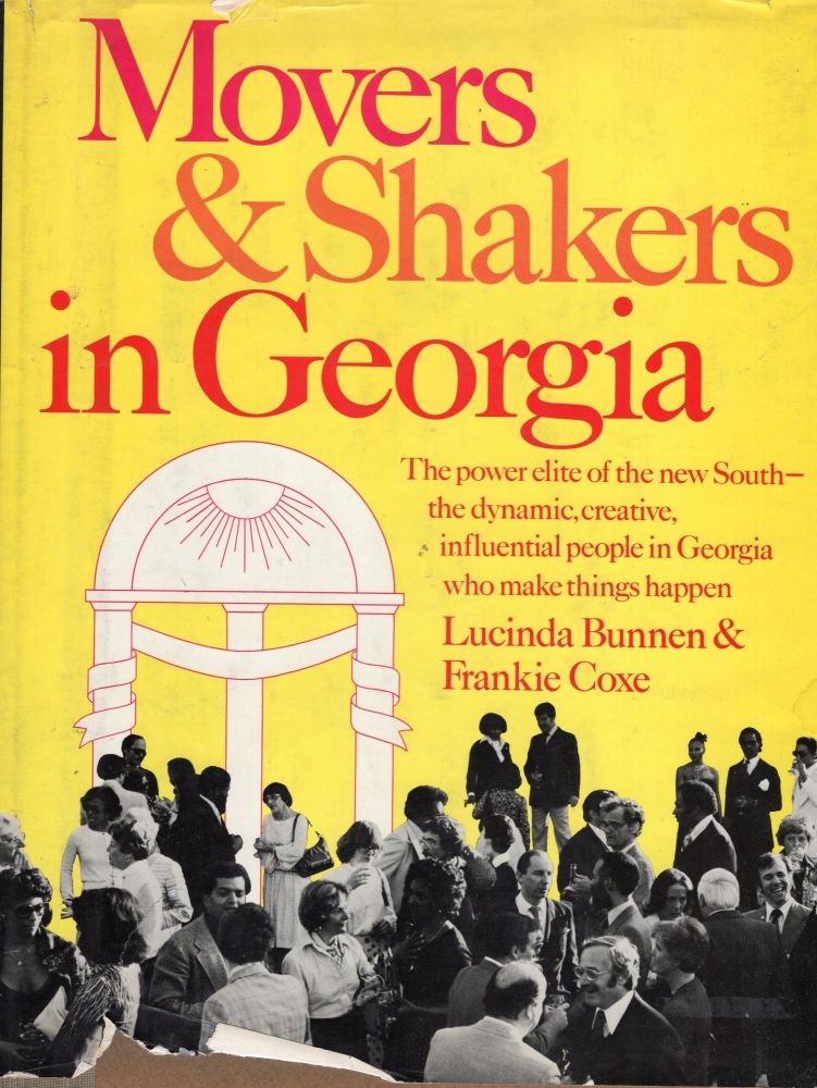 Movers & Shakers in Georgia. Lucinda Bunnen, Frankie Coxe.