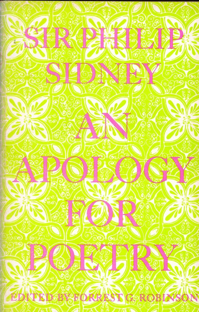 An Apology For Poetry. Sir Philip Sidney.