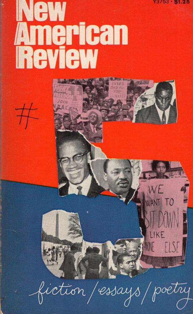 New American Review #5 fiction/essays/poetry (Y3753). Theodore Solotaroff, Stanley Moss, Paul Bacon.