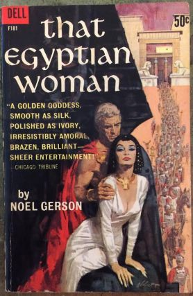 That Egyptian woman ([Dell Books 50 cent series). Noel B. Gerson