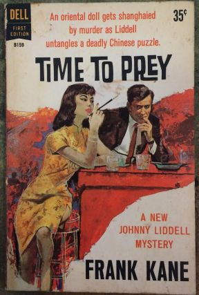 Time to Prey (Dell #B159). Frank Kane.