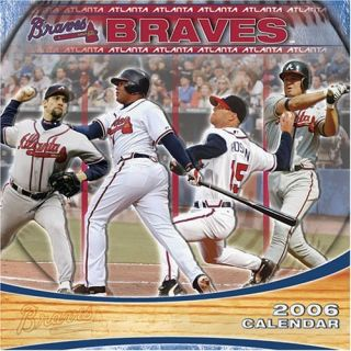 Atlanta Braves 2006 12-month wall calendar