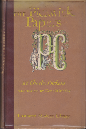 The Pickwick Papers (Illustrated Modern Library). Charles Dickens