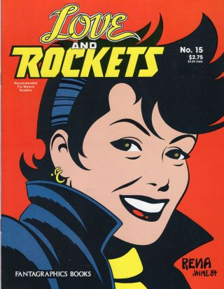 Love & Rockets No. 15. Gilbert, Jaime Hernandez