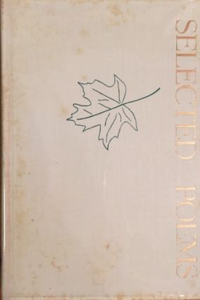 Selected Poems (FIRST EDITION SIGNED). Mark Van Doren