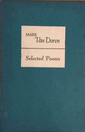 Selected Poems (FIRST EDITION SIGNED)
