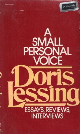 A Small Personal Voice V685. Doris Lessing