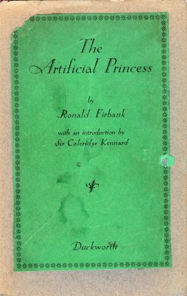 The Artificial Princess. Ronald Firbank