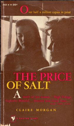 The price of salt. Claire Morgan