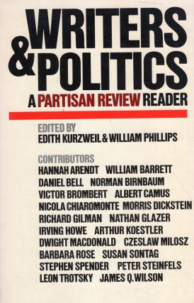 Writers & politics: A Partisan review reader