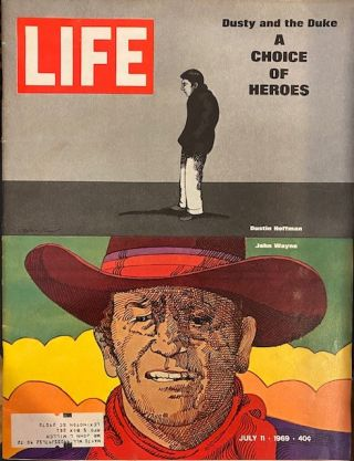 Life Magazine, 11 July 1969. Ralph Graves, Hedley Donavan, Thomas Griffin, Richard Pollard, Jack...