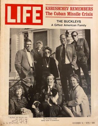 Life Magazine, December 18, 1970; Khrushchev Remembers: The Cuban Missile Crisis; The Buckleys: A...