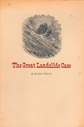 The great landslide case: Three versions (Series of Keepsakes issued by the Friends of the...