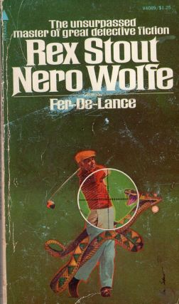 Fer-De-Lance (V4089) -- The unsurpassed master of great detective fiction. The adventures of Nero...